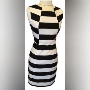 Trina Turk Black and White Marsha Bold Striped 2
